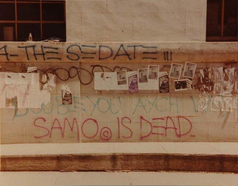 4 – The Sedate – SAMO© is Dead